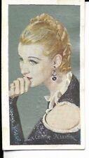 greta nissen film favorites cigarette card