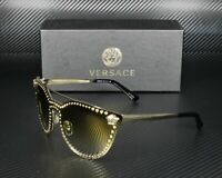 Versace VE2177 12526U PALE GOLD LNT PA B6 589+ FLASH ORO 45 mm Womens Sunglasses