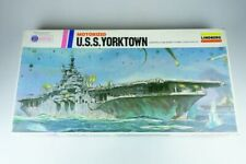Lindberg 1:525 USS Yorktown motor US Navy aircraft carrier 1977 760M Kit 107857