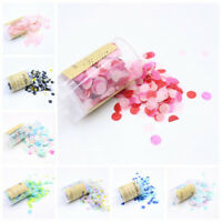 Confetti Popper Flower Paper Confetti Push Weddings Party Birthday Favor CO