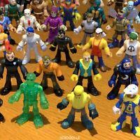 Random 7 Imaginext DC Super Friend Action Figure Superhero Doll Fisher Price Toy