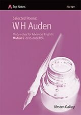 Top Notes HSC English study guide W H Auden poems