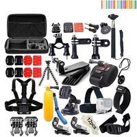 Kit 50 en 1 accesorios para cámara deportiva Go Pro Hero, SJCAM, Xiaomi y mas