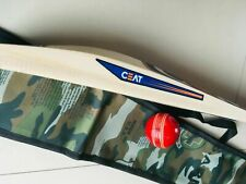 Halloween Pack English Willow Cricket Bat+Free Ceat Sticker+Free Leather Bal