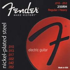 Fender Super 250rh Nickelplated Steel 10-52 Electric Guitar Strings