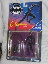 1991 Catwoman Batman Returns Action Figure Kenner Whipping Arm action Taser Gun