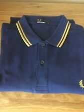 FRED PERRY POLO SHIRT SIZE LARGE