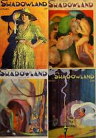 36 OLD ISSUES OF SHADOWLAND - ART DANCE FILM FASHION MAGAZINE (1919-1923) ON DVD