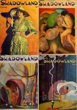36 Old Issues Of Shadowland - Art Dance Film Fashion Magazine (1919-1923) On Dvd