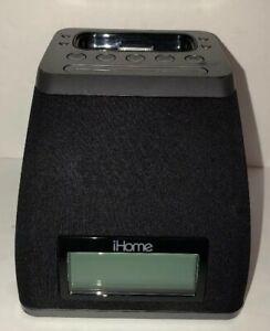 iHome Ip21 Clock Radio,Ipod Dock W AC & Battery Backup option-TESTED-RARE-SHIP24