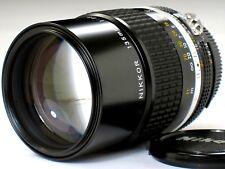 *** MINT++ L/N *** Nikon 135mm F2.8 Ai-s Fo F3 FA FM2 FE2 F2 D7000 D600 FM3A