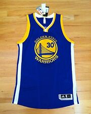 STEPHEN CURRY Golden State Warriors Authentic Pro-Cut REV30 Adidas Jersey NWT L