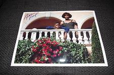"""DEVAUGHN NIXON signed Autogramm auf """"BODYGUARD"""" Bild InPerson WHITNEY HOUSTON"""