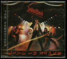Judas Priest Unleashed In The East CD new European Remaster