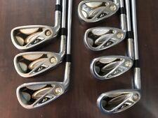 TaylorMade R7 Draw Iron Set 5-PW, AW Project X Steel Regular Flex LH 5876252
