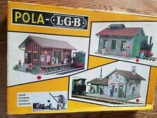 Pola G Scale Small Coaling Depot Model Train Building Kit # 920