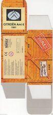 HACHETTE NOREV BOITE CARTON VIDE 1/43 nombreux modèles CITROEN PEUGEOT au choix