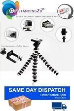 Mini Flexible Gorilla Octopus Tripod Camera Cam with Phone Adapter