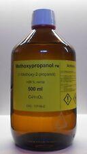 500 ml methoxypropanol 99%,1-methoxy-2-propanol,SOLVENTE PER INCHIOSTRO DI