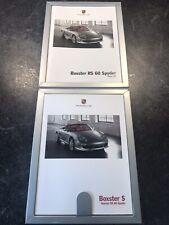 Porsche RS Spyder Brochure Set