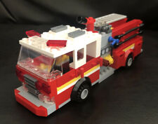 Lego Custom Fdny Fire Engine Truck New York Fire Department Seagrave Firefighter