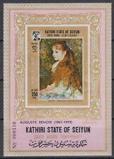 Aden Kathiri 1967 ** Bl.6 B Gemälde Paintings Renoir