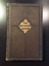 Vintage 1930 Book The University Library Literature Selections Volume VI