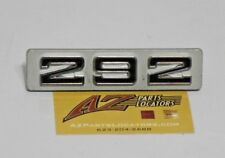 RARE NOS 73-74  GMC C10 C20 C30 Front 292  Emblem Grille Pickup Jimmy Truck 350