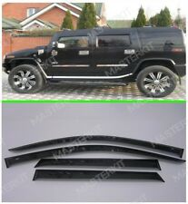 Deflectors For Hummer H2 Windows Rain Sun Visors Weather shields 2002-2009
