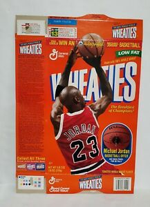 Michael Jordan Wheaties Cereal Box 1998