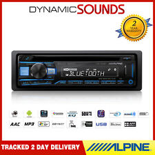 ALPINE CDE-203BT CD MP3 Bluetooth Car Stereo USB Receiver Aux In Headunit