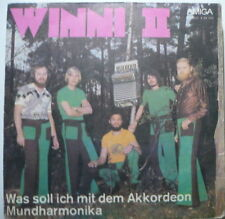 "WINNI II - Was soll ich mit dem Akkordeon - 7""-Single"