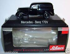 RARE SCHUCO MERCEDES-BENZ 170 V KASTENWAGEN NOIRE 1/43 IN BOX