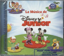 LA MUSICA DE DISNEY JUNIOR SOUNDTRACK IN SPANISH SEALED CD NEW 2011