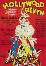 The Hollywood revue of 1929 vintage movie poster print
