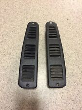 1998 Mitsubishi 3000gt Door Opening Vents Trim Exterior Black Pair