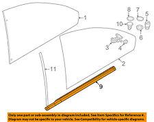 BMW OEM 01-06 325Ci Window Sweep-Belt Molding Weatherstrip Left 51368227685