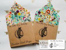 🦊Reusable Beeswax Food Wrap - Organic Cotton - Set Of 2 (30x30, 15x15)
