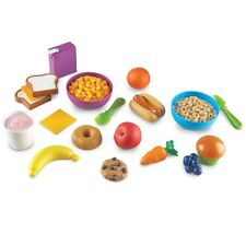 Kids Play Food Set Toddler Toy Kitchen 20 Piece Pretend Gift Cereal Banana New