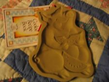 Brown Bag Cookie Mold PIG 1992 second w/recipe book L00K