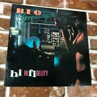 REO Speedwagon Hi Infidelity Epic Label LP Vintage Record VINYL 1980