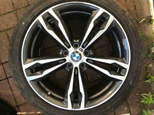 "BMW X1 F48 M SPORT 19"" STYLE 572M SPARE ALLOY WHEEL RIM 7849120 8Jx19 ET47 OEM"