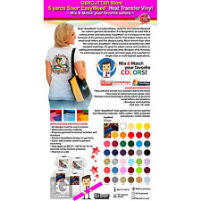 GERCUTTER STORE - 6 YARDS SISER EASYWEED HEAT TRANSFER VINYL- MIX & MATCH COLORS