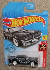 2019 HOT WHEELS Car '68 Mercury Cougar 164 Black w/ Flames  MOC HW