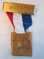 1969 STATE FAIR OF TEXAS - MOON YEAR EXPOSITION - GUEST MEDAL  - TUB BN-6