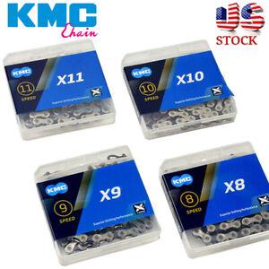 "KMC 6/7/8/9/10/11Speed Chain 116/118 1/2X3/32"" 11/128"" MTB Bike Fit Shimano SRAM"