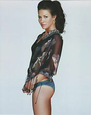 EVANGELINE LILLY Hand Signed 8 x 10 Color Photo Autograph w/ COA Sexy Pic & AUTO