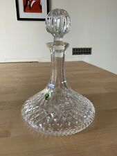 Waterford Crystal Ships Decanter New With Box