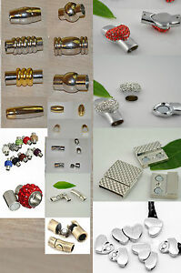 Premium Magnetic Clasp Perfect for Jewellery, Leather, Nappa...- HQ
