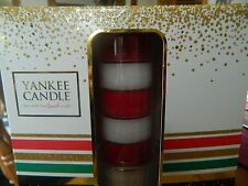 Yankee Candle Tea Light Set Cosy By The Fire Winter Glow Lovely Set